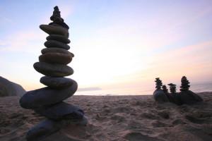 Penbryn beach stones